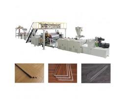 SPC石塑地板生产线