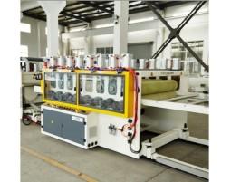 WPC木塑地板生产线