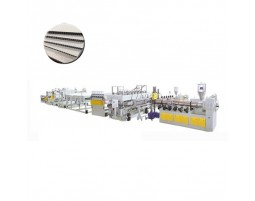 PP Hollow Construction Board Machine